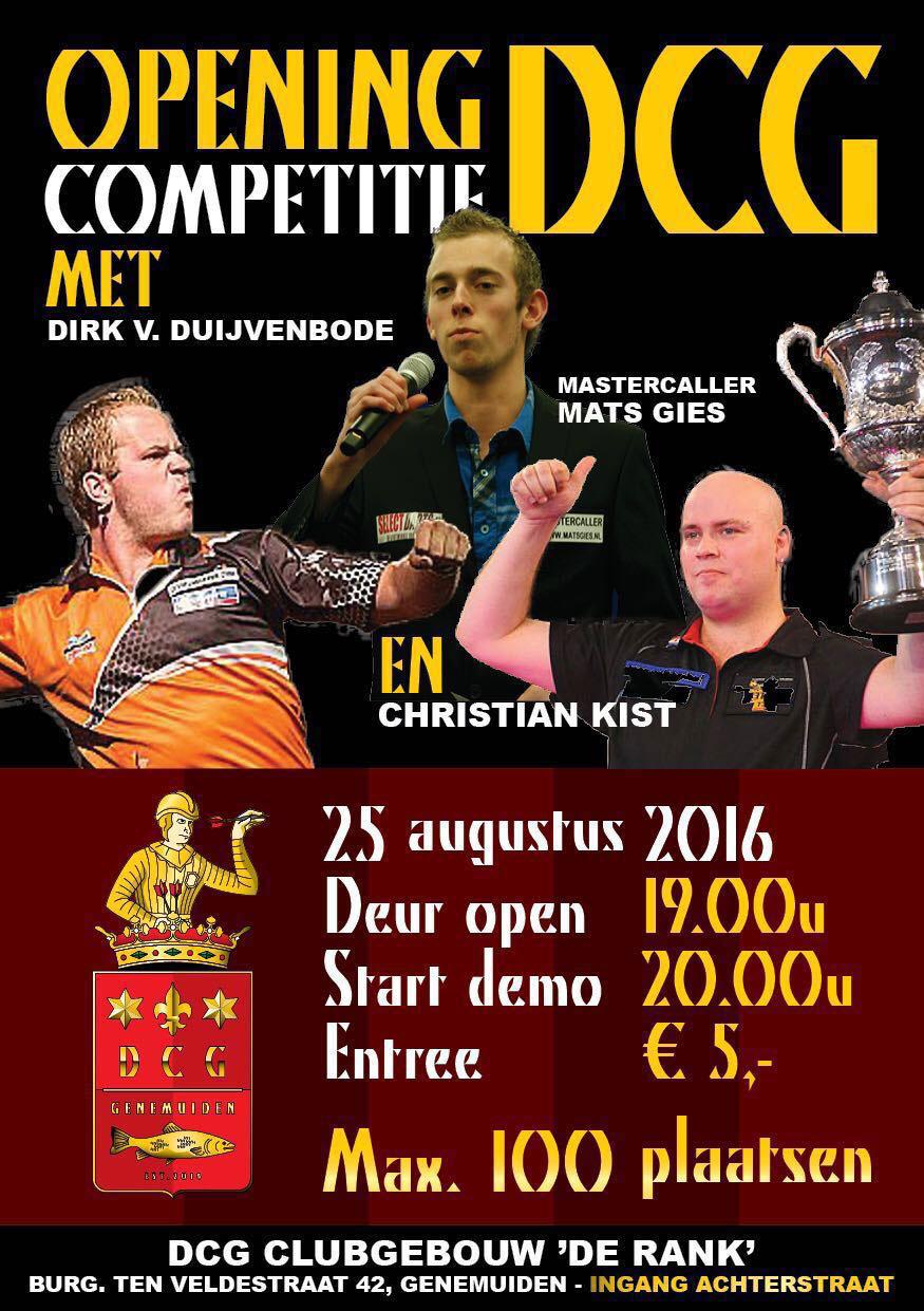 open dcg competitie